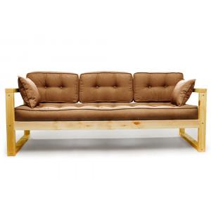 Диван AnderSon Астер прямой деревянный коричневый