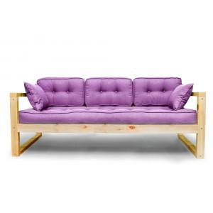 Диван AnderSon Астер прямой фиолетовый