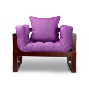 Кресло AnderSon Амбер фиолетовый