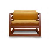 Кресло AnderSon Магнус апельсиновое