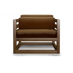 Кресло AnderSon Магнус коричневое