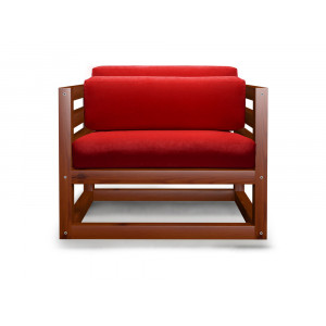 Кресло AnderSon Магнус красное