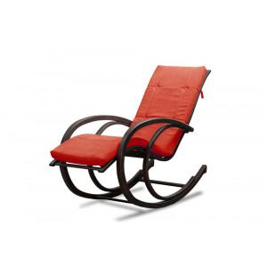 Кресло AnderSon шезлонг алое