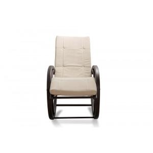 Кресло AnderSon шезлонг белое