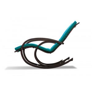 Кресло AnderSon шезлонг бирюзовое
