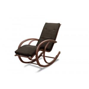 Кресло AnderSon шезлонг черное