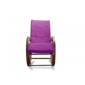 Кресло AnderSon шезлонг фиолетовое