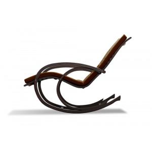 Кресло AnderSon шезлонг коричневое