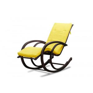 Кресло AnderSon шезлонг лимонное