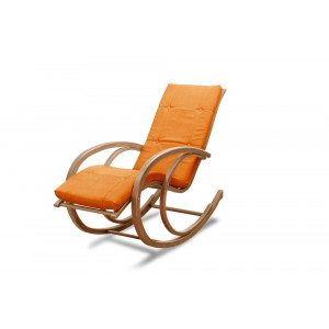 Кресло AnderSon шезлонг оранжевое
