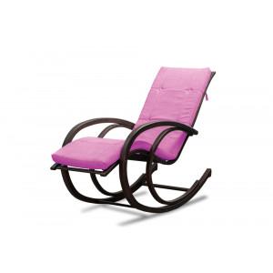 Кресло AnderSon шезлонг розовое
