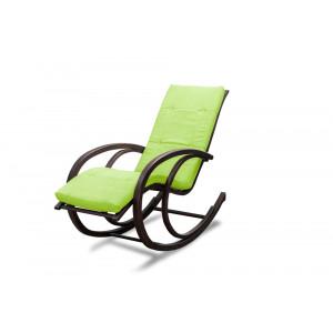 Кресло AnderSon шезлонг салатовое