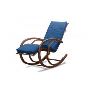 Кресло AnderSon шезлонг синее
