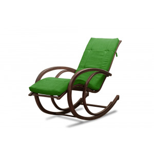 Кресло AnderSon шезлонг зеленое