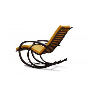 Кресло AnderSon шезлонг желтое