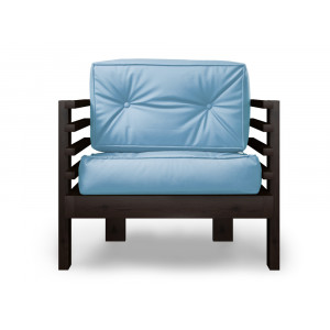 Кресло AnderSon Стоун голубое