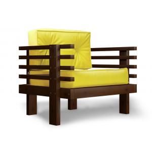 Кресло AnderSon Стоун лимонное
