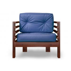 Кресло AnderSon Стоун синее