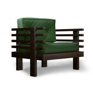 Кресло AnderSon Стоун зеленое