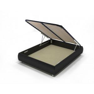 Кровать с подъемным механизмом AnderSon Dario 1 Box черная