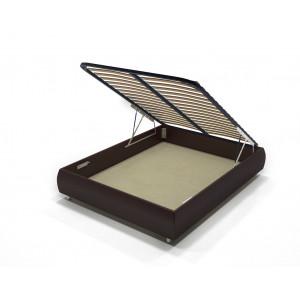 Кровать с подъемным механизмом AnderSon Dario 1 Box коричневая