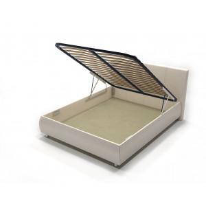 Кровать с подъемным механизмом AnderSon Dario 1 бежевая