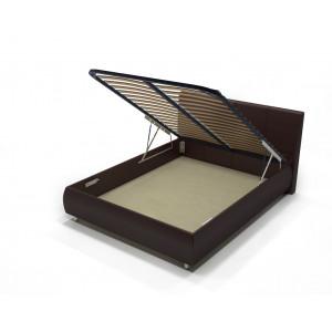 Кровать с подъемным механизмом AnderSon Dario 1 коричневая