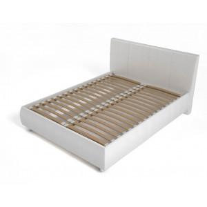 Кровать с мягким изголовьем AnderSon Dario 1 белая
