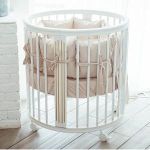 Детская кровать трансформер MIOCHE DELICE GOLD + (комплект)