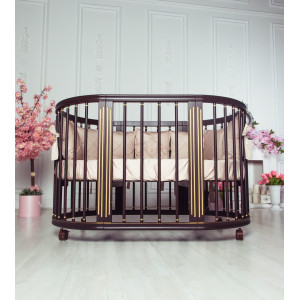 Детская кровать трансформер MIOCHE DELICE GRAND GOLD + (комплект)