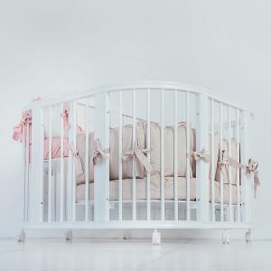 Детская кровать трансформер MIOCHE DELICE TWINS
