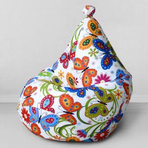 Кресло мешок My Puff Бабочки