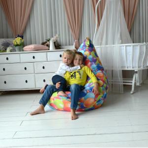 Кресло мешок My Puff Воздушные шары