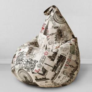 Кресло мешок My Puff Старый Лондон