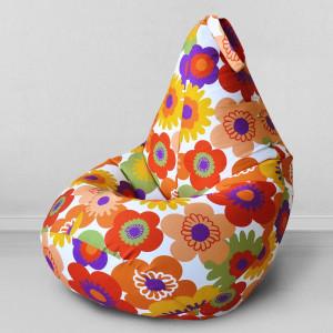Кресло мешок My Puff Пуэрто Плата оранжевая