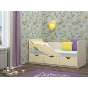 Детская кровать Дельфин 1 ваниль