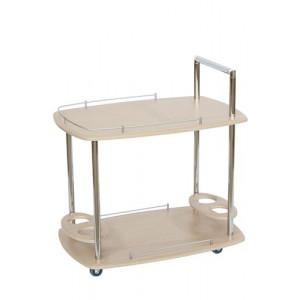 Сервировочный стол Банкет (Дуб белёный)