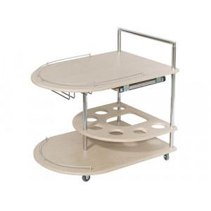 Сервировочный стол Бармен (Дуб белёный)