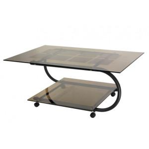 Журнальный столик Дуэт 10 (Черный)