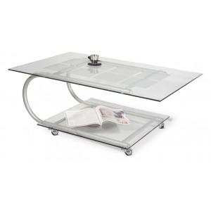 Журнальный столик Дуэт 10 (Металлик)