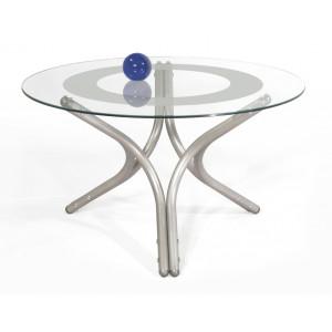 Журнальный столик Дуэт 6 (Металлик)