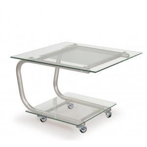 Журнальный столик Дуэт 9 (Металлик)