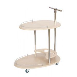 Сервировочный стол Фуршет (Дуб белёный)