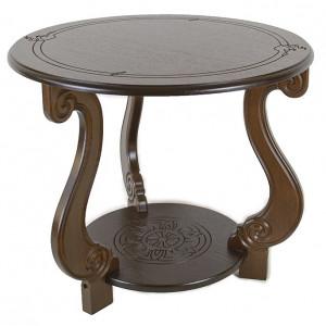 Журнальный столик Грация М (Темно-коричневый)