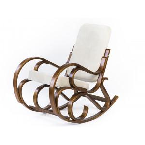 Кресло - качалка Луиза (Слоновая кость/венге)