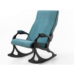 Кресло - качалка Санторини (Изумруд / венге)