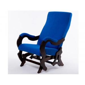 Кресло - слайдер Палермо (Индиго / орех)