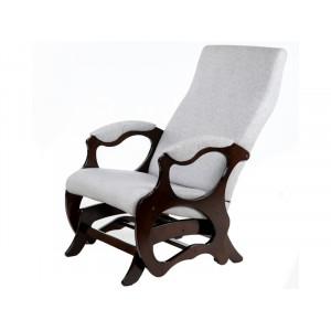Кресло - слайдер Санторини (Серый / орех)