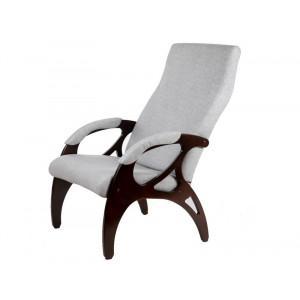 Кресло Бергамо (Серый / орех)