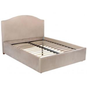 Кровать Leset Dita (Орех / Velutto 21 Пудра)
